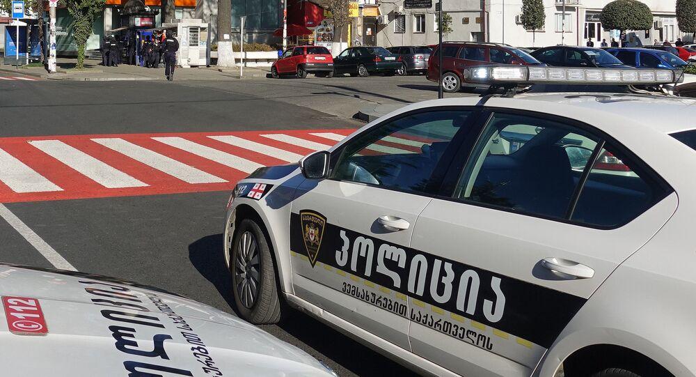 Gürcistan polis
