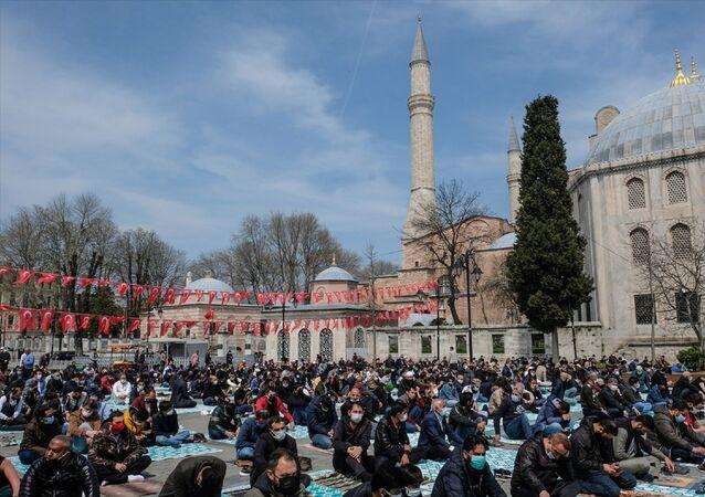 Ramazan  - cuma namazı - Ayasofya