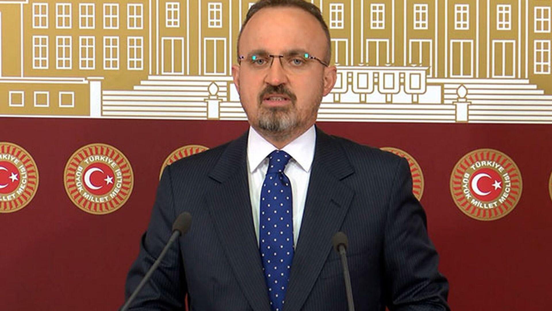 AK Parti Grup Başkanvekili Bülent Turan - Sputnik Türkiye, 1920, 20.04.2021