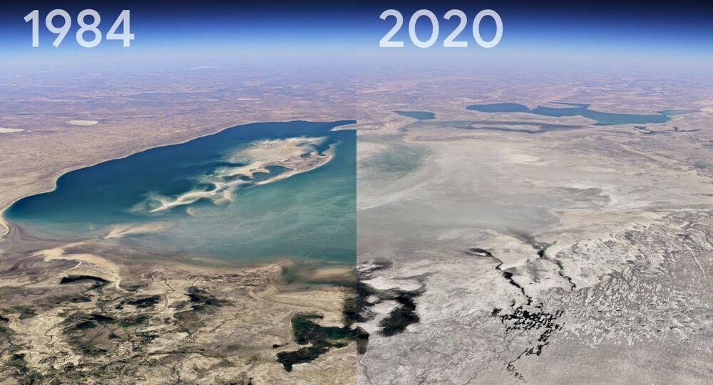Google Earth'ten yeni 'Timelapse' özelliği: Bir yerin 37 yıllık değişimi görülebilecek