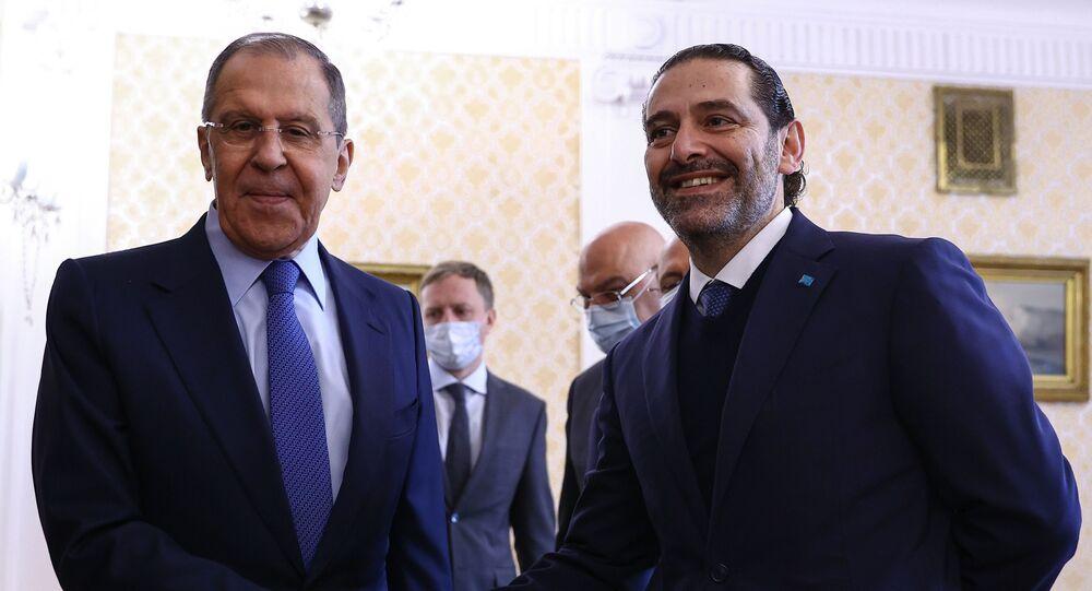 Rusya Dışişleri Bakanı Sergey Lavrov, Moskova'ya çalışma ziyaretinde bulunan Lübnan Başbakanı Saad Hariri ile bir görüşme gerçekleştirdi.