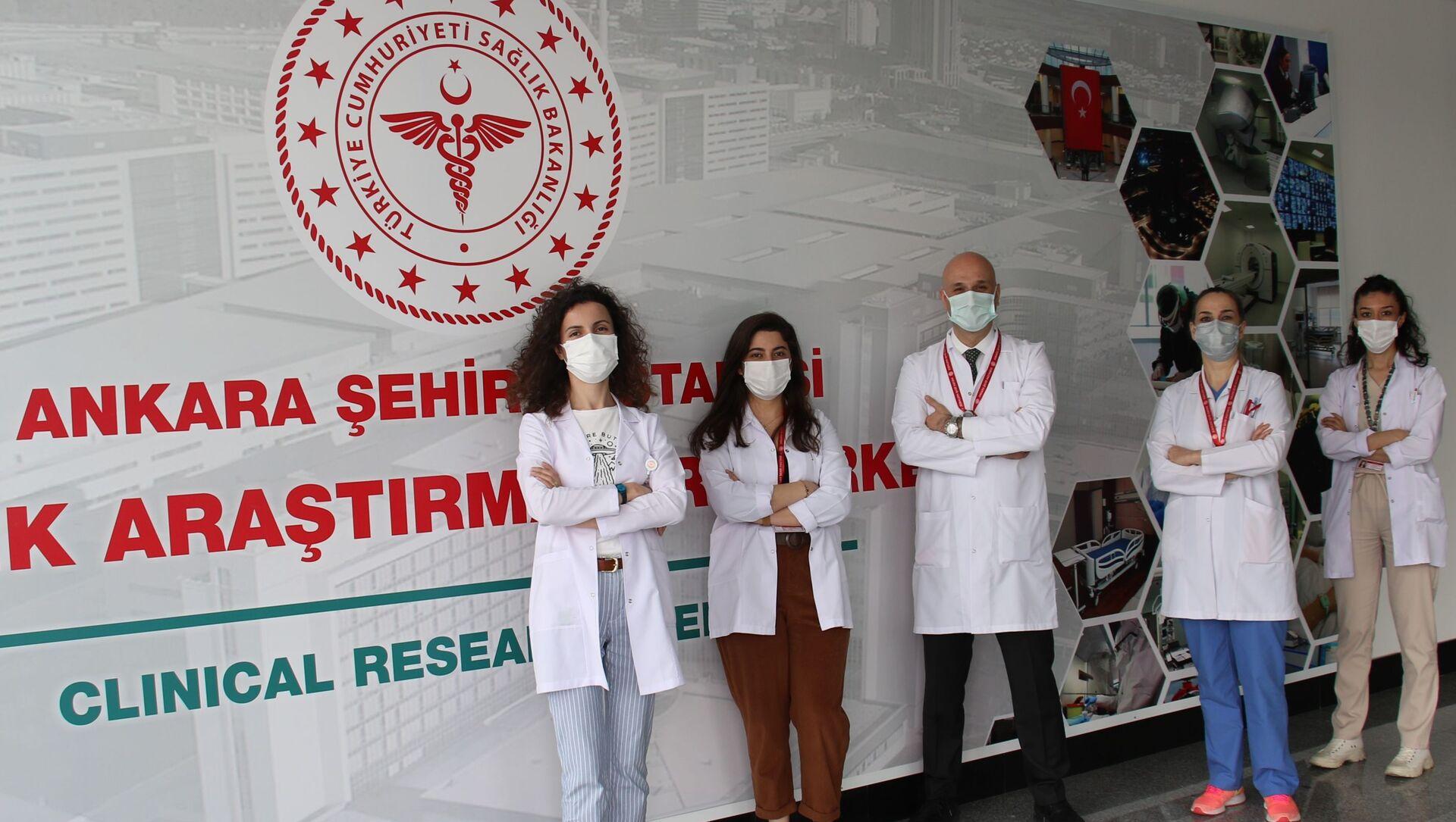Yerli Kovid-19 aşı adayının Faz-1 çalışmalarının ve araştırmalarının yürütüleceği Klinik Araştırmalar Merkezi - Sputnik Türkiye, 1920, 17.04.2021