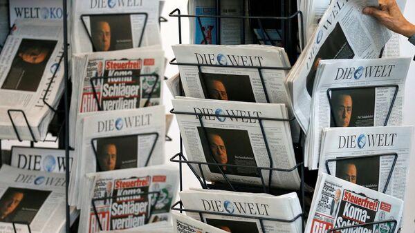 Die Welt gazetesi - Sputnik Türkiye