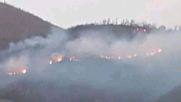 İzmir'in Ödemiş ilçesindeki dağlık alanda çıkan yangın kontrol altına alındı. - Sputnik Türkiye