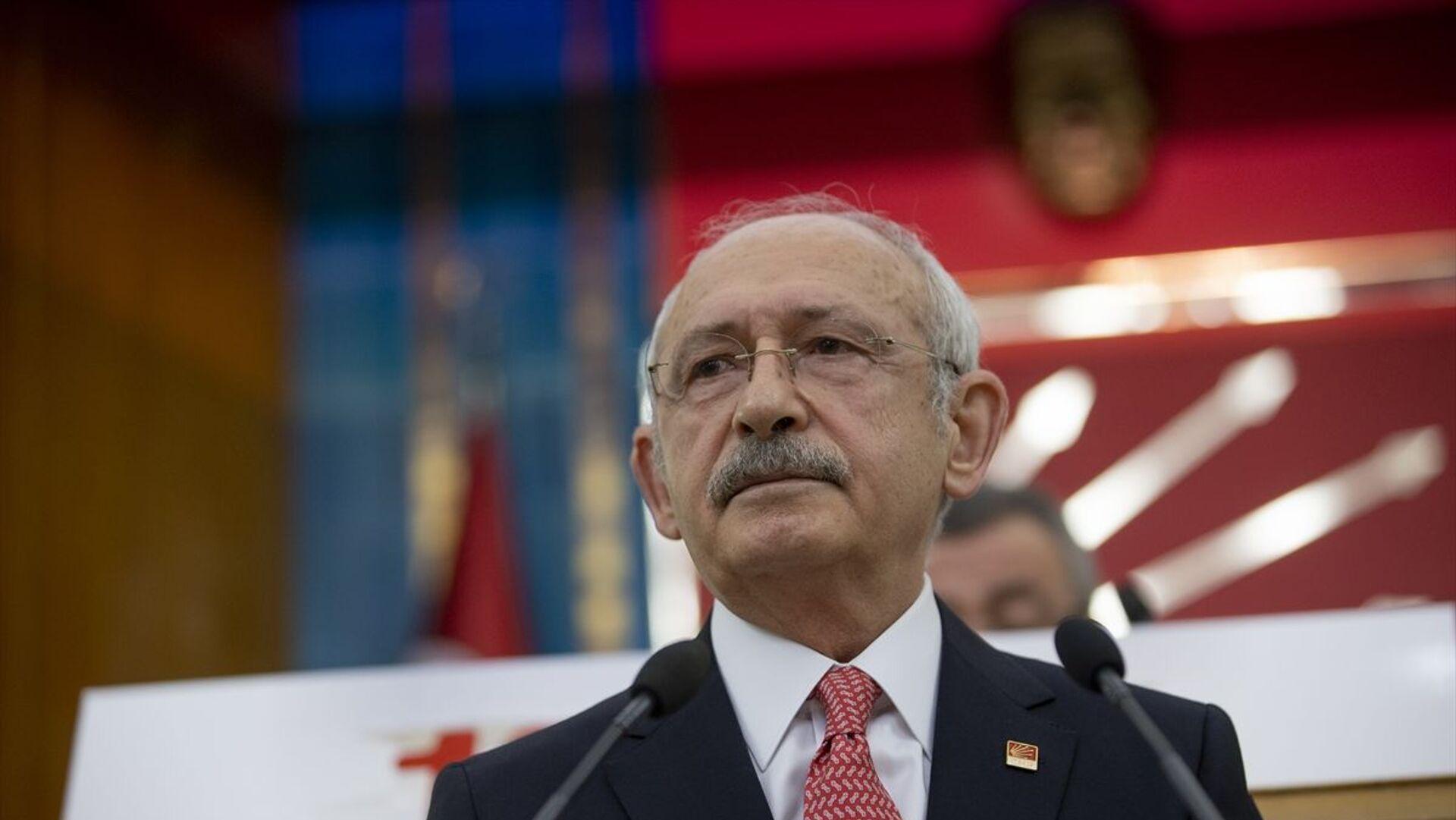 Kemal Kılıçdaroğlu - Sputnik Türkiye, 1920, 19.04.2021