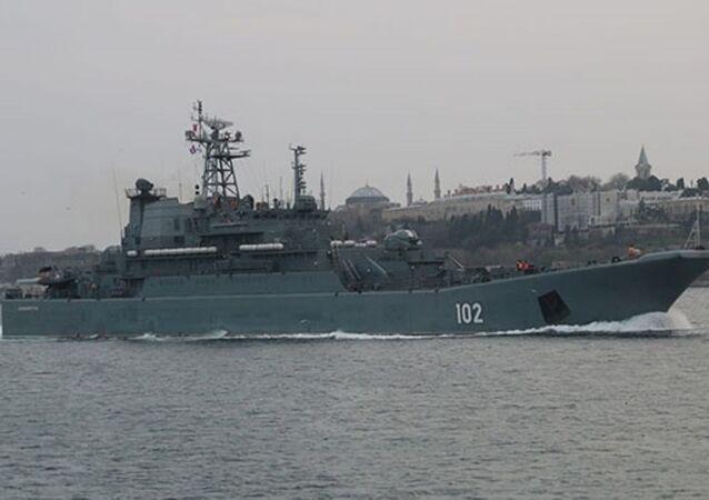 102 borda numaralı 'Kaliningrad'