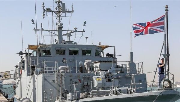 İngiliz Donanması, savaş gemisi, İngiltere - Sputnik Türkiye