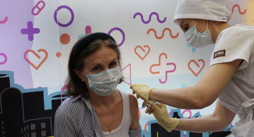 Moskova- Rusya- Koronavirüs aşısı