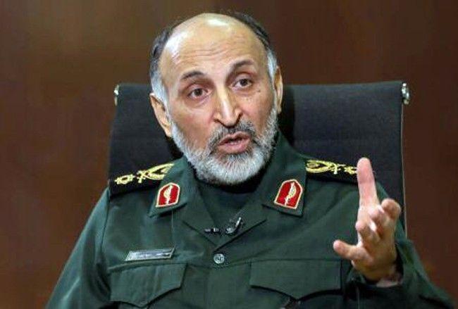 İran Devrim Muhafızları Kudüs Gücü Komutan Yardımcısı General Hüseyin Zade Hicazi