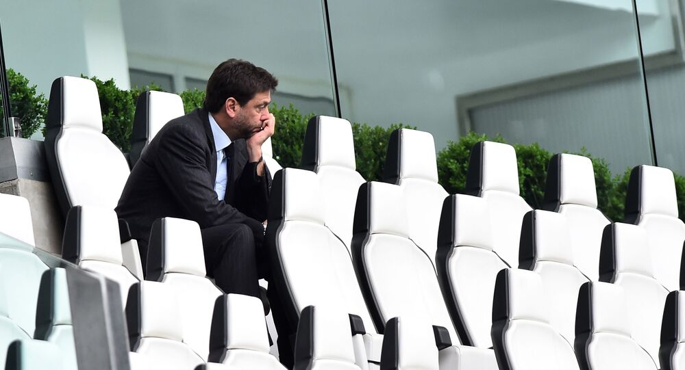 Juventus'un Başkanı Andrea Agnelli