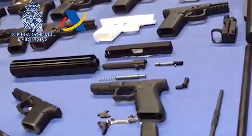 İspanya'da üç boyutlu yazıcıyla silah üreten fabrikaya polis baskını