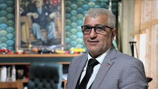 Bursa Oto Galericiler Odası Başkanı Hakan Yanık - Sputnik Türkiye