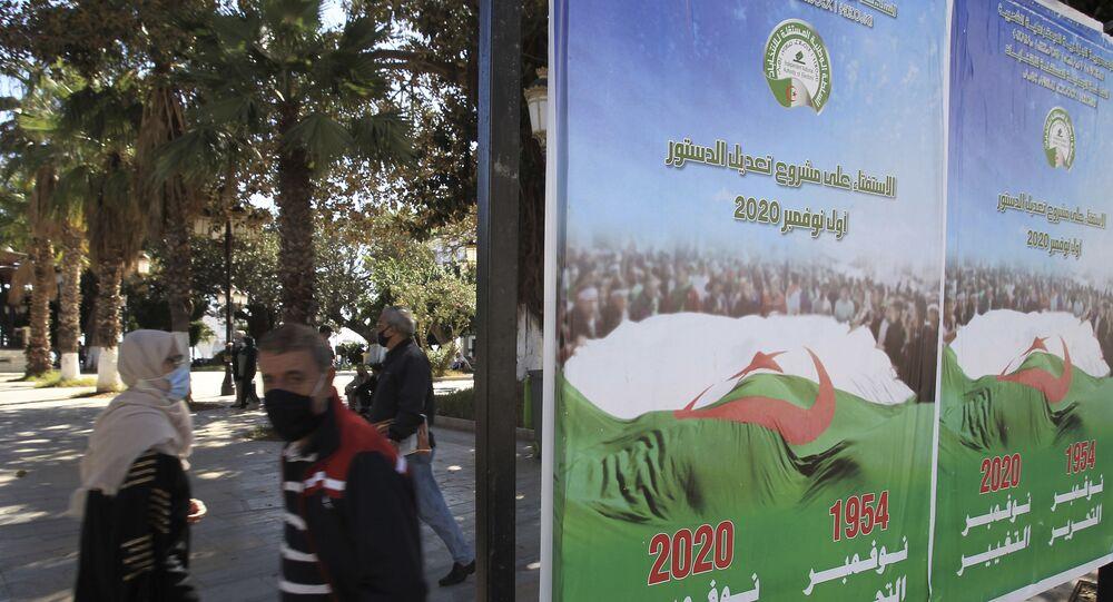 Cezayir anayasası ilk kez Berberice yayınlandı