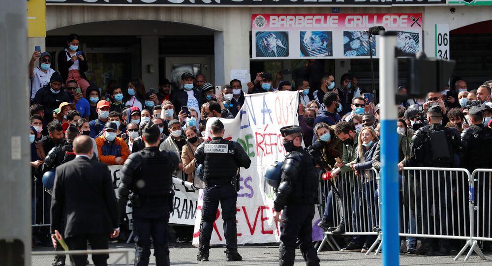 Fransa Cumhurbaşkanı Macron, Montpellier ziyareti sırasında protesto edildi