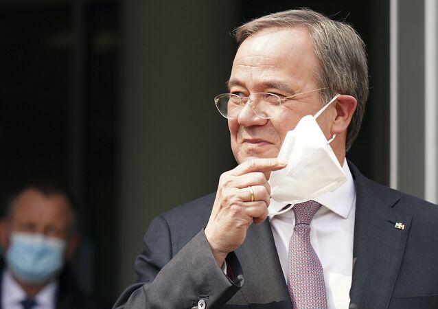 Almanya'da Hristiyan Birlik Partileri'nin başbakan adayı Laschet oldu