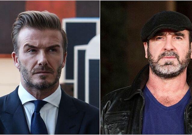 David Beckham ve Eric Cantona'dan 'Avrupa Süper Ligi'ne eleştiri