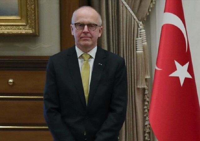 İsveç'in Ankara Büyükelçisi Staffan Herrström