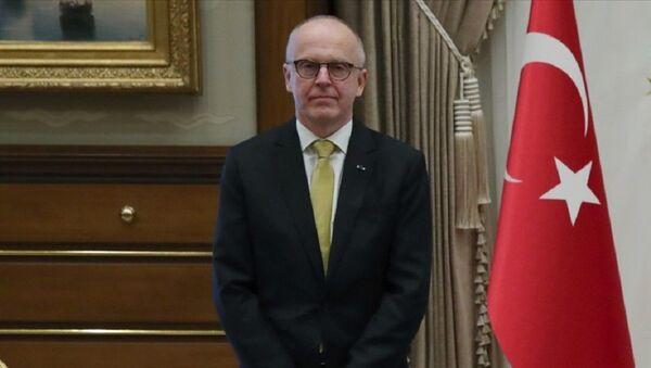 İsveç'in Ankara Büyükelçisi Staffan Herrström - Sputnik Türkiye