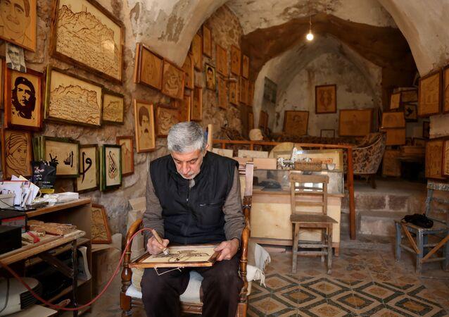 Mehmet Selim Gökçen, Mardin, ahşap dağlama