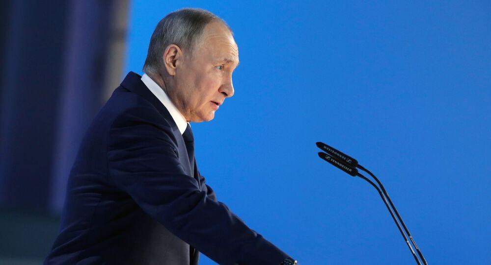 Putin federal meclis üyelerine sesleniyor