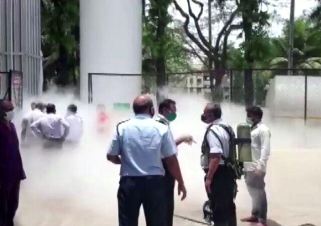 Hindistan - oksijen tankı