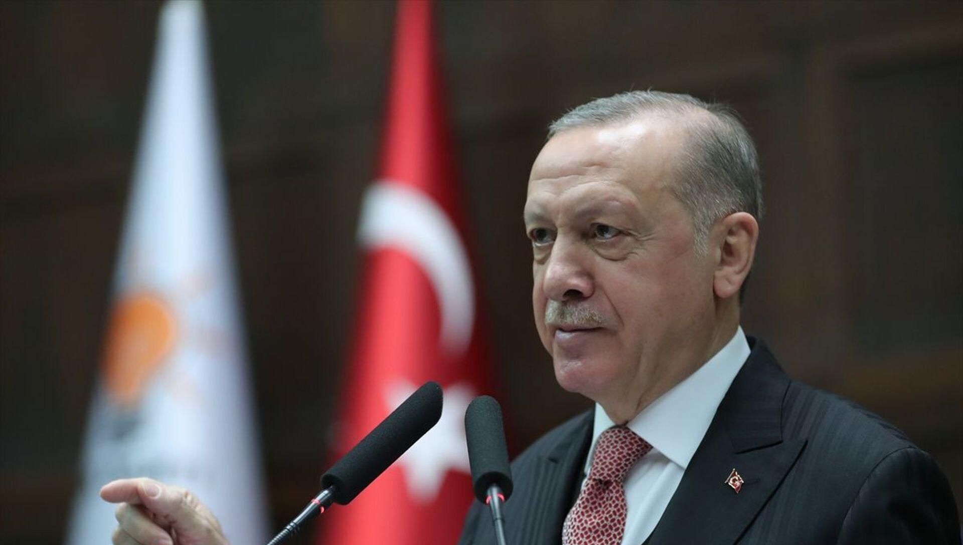 Recep Tayyip Erdoğan - Sputnik Türkiye, 1920, 21.04.2021
