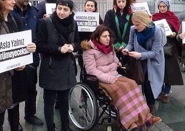Boşanma davası açan Handan Aşkın'ı felç bırakan saldırgan erkek Emre Aşkın'a ceza indirimi