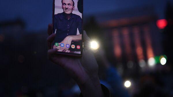 Aleksey Navalnıy protestoları - Sputnik Türkiye