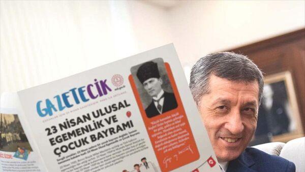 Milli Eğitim Bakanlığı'nca (MEB) 23 Nisan Ulusal Egemenlik ve Çocuk Bayramı dolayısıyla hazırlanan Gazetecik - Sputnik Türkiye