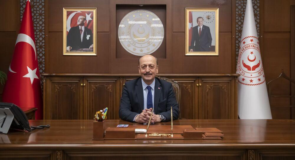 Çalışma ve Sosyal Güvenlik Bakanı Vedat Bilgin