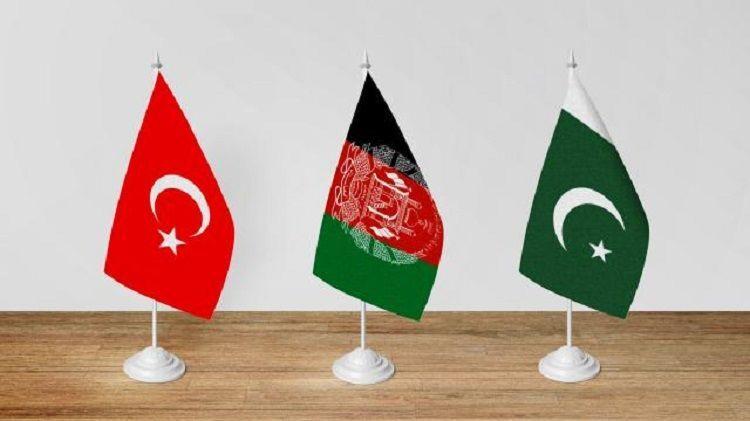 Türkiye, Afganistan, Pakistan bayrak
