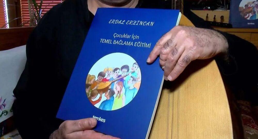 Erdal Erzincan, bağlama eğitimi, kitap