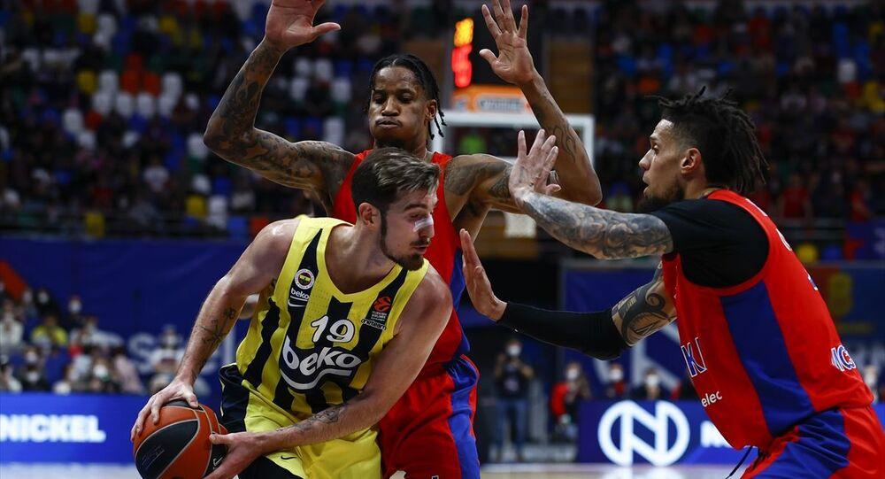Fenerbahçe Beko, THY Avrupa Ligi play-off çeyrek final serisi ikinci maçında Rusya temsilcisi CSKA Moskova'ya 78-67 yenildi ve seride 2-0 geriye düştü.