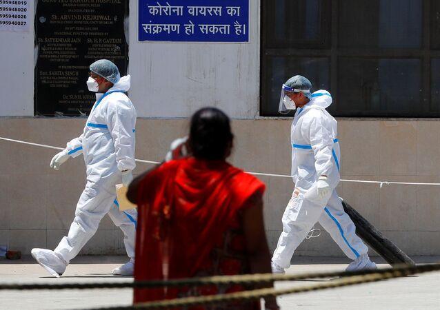 Hindistan'da koronavirüs salgını