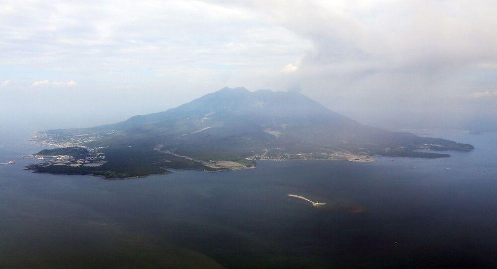 Sakurajima Yanardağı