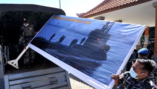 Endonezya'da 21 Nisan'da kaybolan denizaltı - Sputnik Türkiye