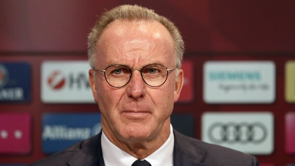 Bayern Münih Başkanı Rummenigge: 'Avrupa Süper Ligi' projesi 'kesin olarak' bitti - Sputnik Türkiye