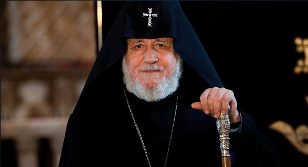 Dünya Ermenileri ruhani lideri 2. Karekin