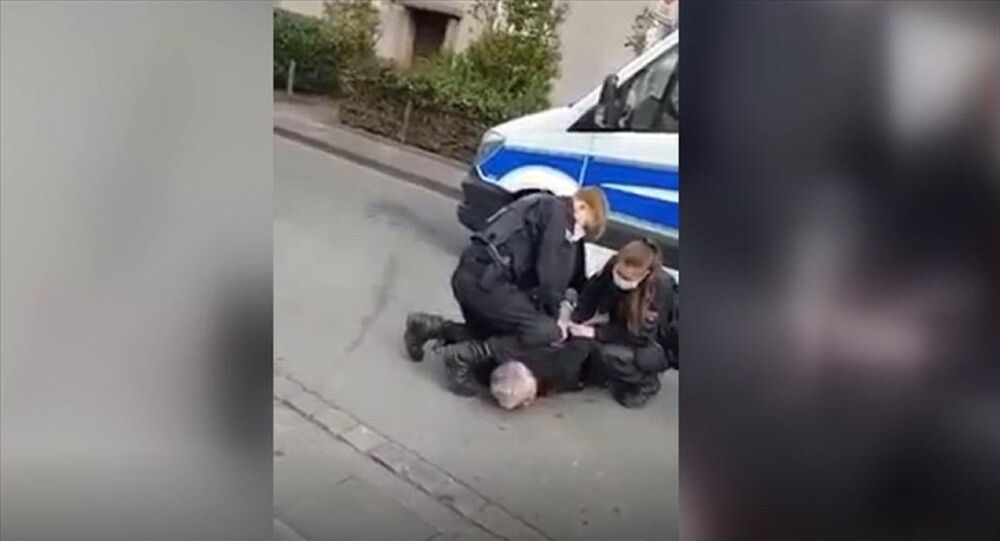Almanya'da 'George Floyd' vakası: Alman polisinin, Türk iş insanına uyguladığı şiddet görüntülendi