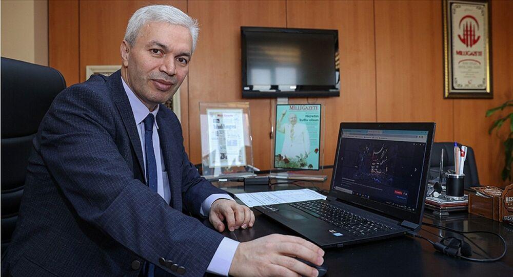 Milli Gazete'nin Genel Yayın Yönetmeni Mustafa Kurdaş