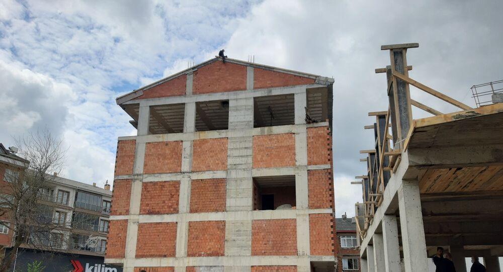 Zonguldak, intihar girişimi, ikna, inşaat, Muharrem U.