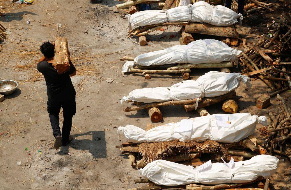 Hindistan'da Kovid-19'dan ölenlerin sayısı 195 bin 123'e yükseldi