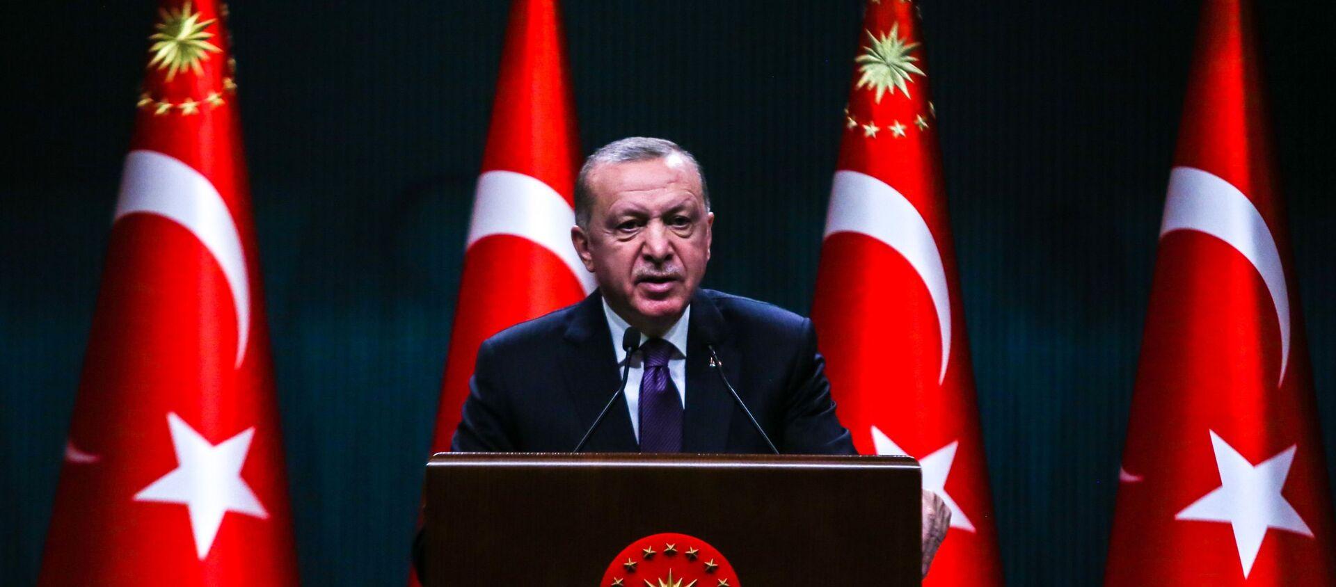 Recep Tayyip Erdoğan - Sputnik Türkiye, 1920, 26.04.2021