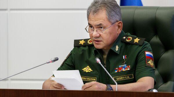 Şoygu: Rusya, sınırlarını korumak için gereken her şeyi yapacak - Sputnik Türkiye