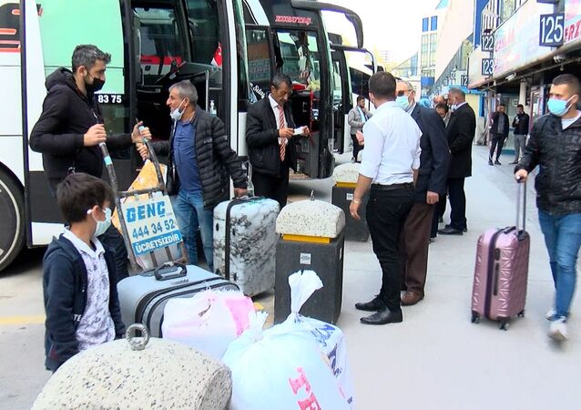 İstanbul, tam kapanma kararından sonra otogarlar
