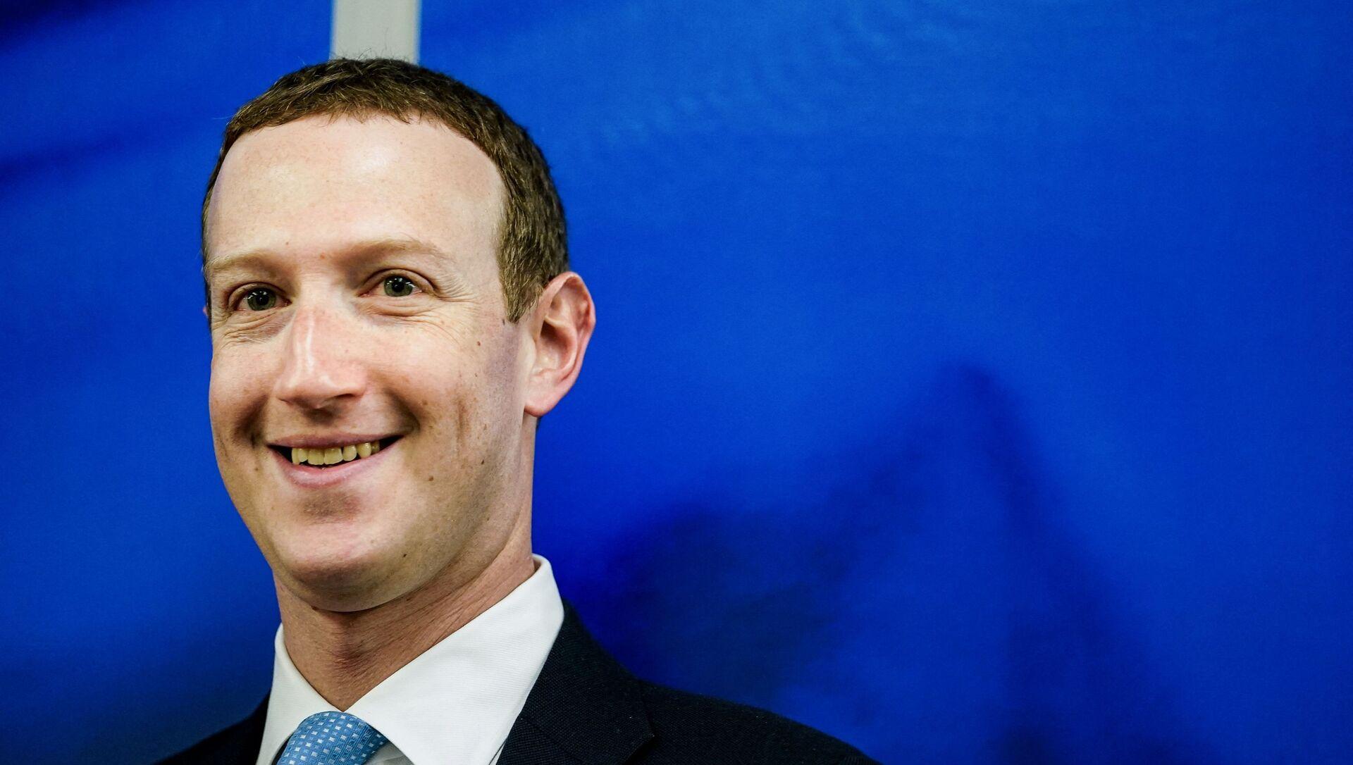 Mark Zuckerberg - Sputnik Türkiye, 1920, 28.04.2021