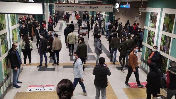 İstanbul metro - Sputnik Türkiye