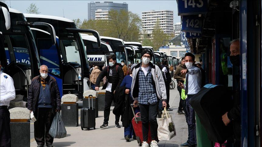 İstanbul, otogar, koronavirüs, otobüs