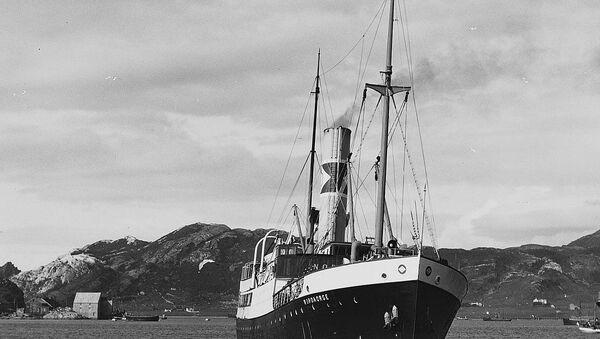 Nazilerin kaçırdığı Norveç gemisi 81 yıl sonra bulundu - Sputnik Türkiye
