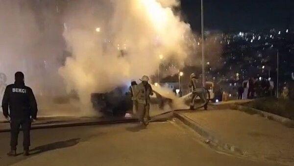 Esenyurt, benzin, sigara, yangın - Sputnik Türkiye